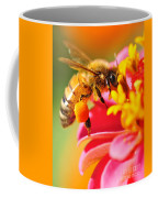 Bee Laden With Pollen Coffee Mug