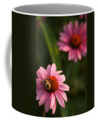 Bee On Coneflower Coffee Mug