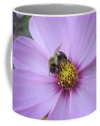 Bee On Cosmos Coffee Mug