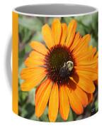 Bee On Flower Coffee Mug