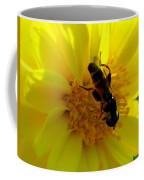 Honey Bee On Sunflower Coffee Mug