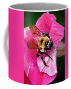 Bee On Petunia Coffee Mug