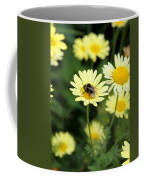 Bee On Yellow Coffee Mug