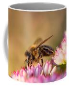 Bee Sitting On Flower Coffee Mug