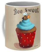 Bee Sweet Cupcake Coffee Mug by Catherine Holman