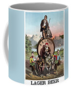 Beer Ad C1870 Coffee Mug