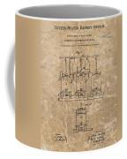 Beer Brewery Patent Illustration Coffee Mug