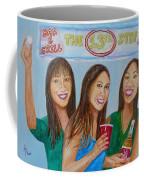 Beer Pong Champs Coffee Mug