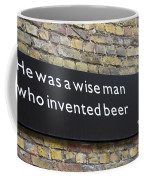 Beer Sign Coffee Mug