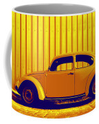 Beetle Pop Gold Coffee Mug