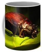 Beetle With Powerful Mandibles Coffee Mug