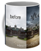 Before And After Coffee Mug by Edward Fielding