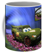 Before And After Sample Art 29 Floral Lightning Mcqueen Coffee Mug by Thomas Woolworth