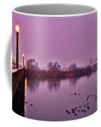 Before Sunrise On The Bridge Coffee Mug