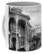 Before The Gates Open In Black And White Walt Disney World Coffee Mug