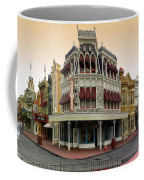 Before The Gates Open Magic Kingdom Main Street. Coffee Mug
