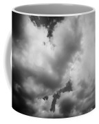 Before The Storm Clouds Stratocumulus 5 Bw  Coffee Mug