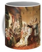 Before The Wedding, 1890 Oil On Canvas Coffee Mug