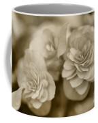 Begonias In Sepia Coffee Mug