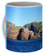 Behind Fort Amherst Rock 2 By Barbara Griffin Coffee Mug