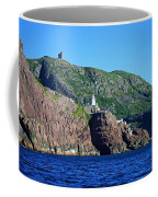 Behind Fort Amherst Rock By Barbara Griffin Coffee Mug