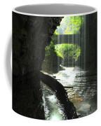 Behind Rainbow Falls Coffee Mug