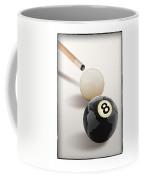 Behind The Eight Ball Coffee Mug