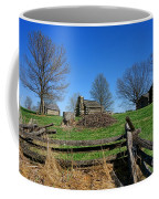 Behind The Fences  Coffee Mug by Olivier Le Queinec