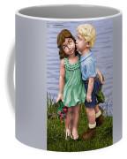 Behind The Kiss Coffee Mug