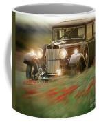 Behind The Wheel Coffee Mug by Edmund Nagele
