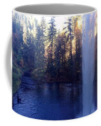 Behind Water Fall  Coffee Mug