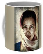 Behind The Scarf Coffee Mug