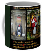 Behold I Stand At The Door And Knock Composite Coffee Mug