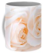 Beige Roses Coffee Mug by Elena Elisseeva
