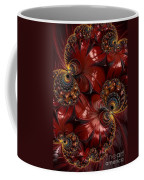 Bejewelled Crimson Coffee Mug