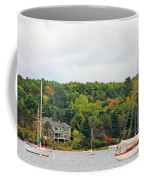 Belfast Maine Harbor Coffee Mug