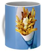 Belgian Fries With Mayonnaise On Top Coffee Mug