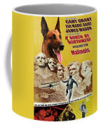 Belgian Malinois Art Canvas Print - North By Northwest Movie Poster Coffee Mug
