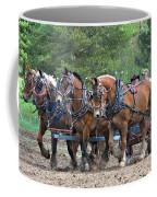 Belgians Four Abreast Coffee Mug