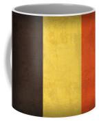 Belgium Flag Vintage Distressed Finish Coffee Mug by Design Turnpike