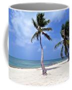 Beautiful Belize Palms Coffee Mug