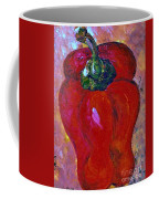 Red Bell Pepper Takes Center Stage Coffee Mug