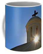 Bell Tower Sun Burst  Tumacacori Mission Coffee Mug