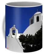 Bella Santorini Island Church Greece  Coffee Mug