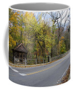 Bells Mill Road In Autumn Coffee Mug