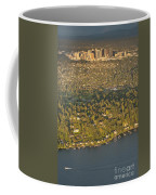Bellvue Skyline At Sunset Coffee Mug