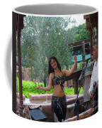 Belly Dancer And Performer At Morocco Pavilion Coffee Mug