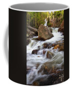 Below Alberta Falls II Coffee Mug