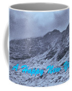 Ben Nevis Happy New Year Greeting Coffee Mug