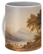 Ben Vorlich And Loch Lomond Coffee Mug by Anthony Vandyke Copley Fielding
